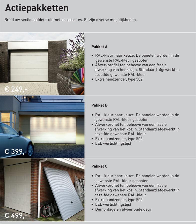 zomeractie-pakketten-garagedeuren
